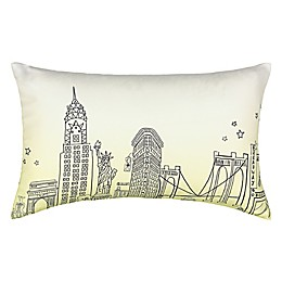 Waverly® Spree Cityscape Landmark Ombre Oblong Throw Pillow