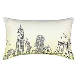 Waverly® Spree Cityscape Landmark Ombre Oblong Throw Pillow