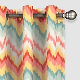 Waverly® Sun-n-Shade Borderline Grommet Light Filtering Window Curtain Panel