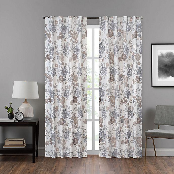 Alternate image 1 for Eclipse Summit Rod Pocket/Back Tab Room Darkening Window Curtain Panel