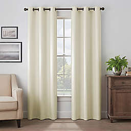 Eclipse Martina 63-Inch Grommet Blackout Window Curtain Panel in Ivory (Single)