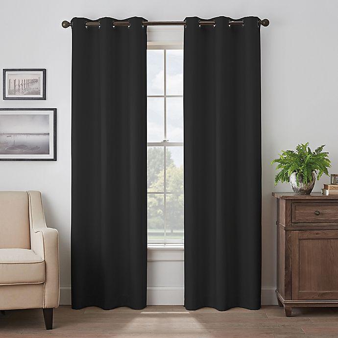 Alternate image 1 for Eclipse Martina Grommet Blackout Window Curtain Panel (Single)