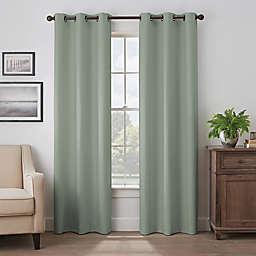Eclipse Martina 108-Inch Grommet Blackout Window Curtain Panel in Eucalyptus (Single)