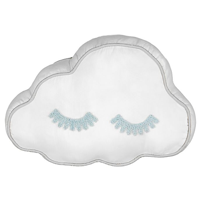 Alternate image 1 for Waverly® Spree Lights Out Cloud Oblong Throw Pillow in Spa