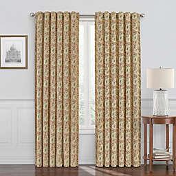 Waverly Paisley Verveine Room Darkening Window Curtain Panel