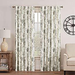 Waverly® Kensington 36-Inch Room Darkening Window Tier Pair in Grey