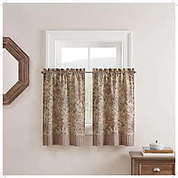 Waverly® Lucchese 2-Pack 36-Inch Kitchen Window Curtain Tier Pair