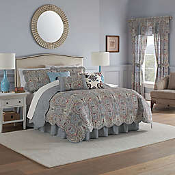 Waverly® Paisley Pizzazz Quilt Set in Heritage