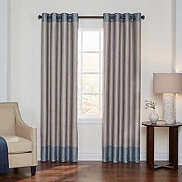 Eclipse Monty 108-Inch Grommet Blackout Window Curtain Panel in Spa/Cream (Single)