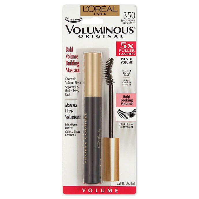 03c54ed2715 L'Oréal® Paris .28 oz. Voluminous Curved Brush Mascara in Brown ...