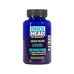 Thick Head™ Head Rush 60-Count Hair and Scalp Supplements