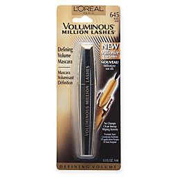 L'Oréal® Voluminous Million Lash Mascara Black