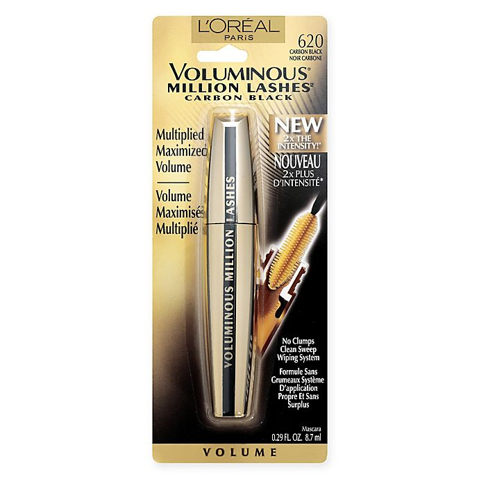 Alternate image 1 for L'Oréal® Voluminous Million Lash Mascara Carbon Black