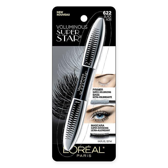 Alternate image 1 for L'Oreal® Paris Voluminous® Superstar Mascara in Black