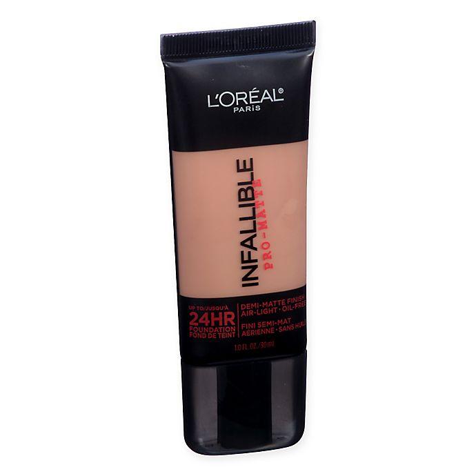 Alternate image 1 for L'Oréal Paris® Infallible Pro-Matte Foundation in Soft Sable