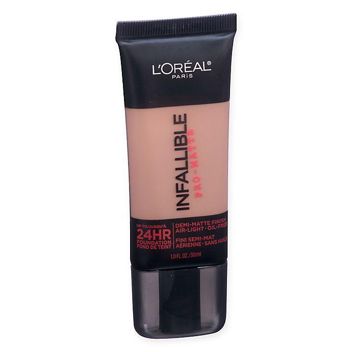 Alternate image 1 for L'Oréal Paris® Infallible Pro-Matte Foundation in Cocoa