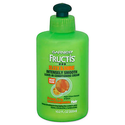 Garnier® Fructis® 10.2 oz. Sleek and Shine Intensely Smooth Leave-In Conditioning Cream