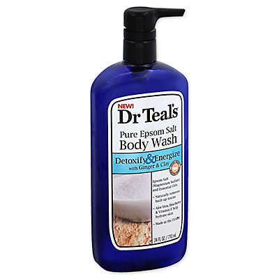 Dr. Teal's® Detoxify & Energize 24 oz. Pure Epsom Salt Body Wash with Ginger & Clay