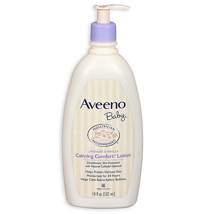 Alternate image 1 for Aveeno® Baby Calming Comfort® 18 oz. Lotion