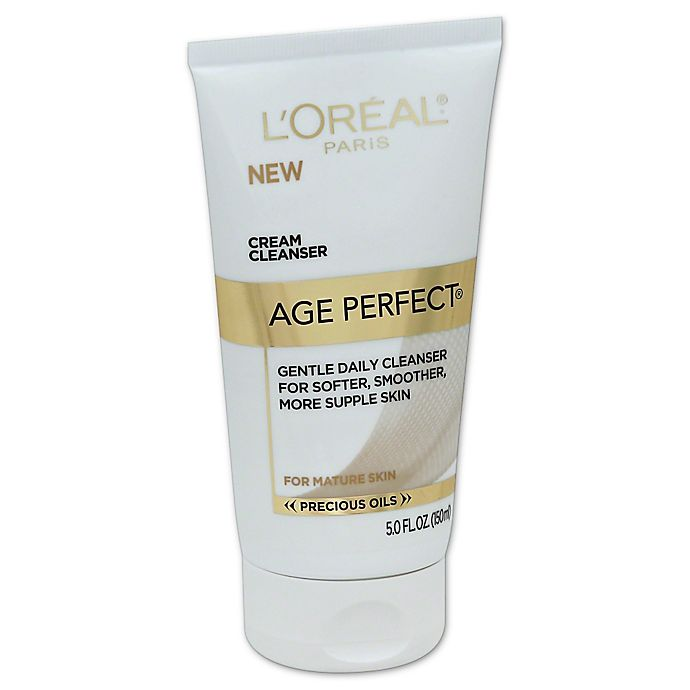 Alternate image 1 for L'Oréal® Age Perfect® 5 oz. Nourish Cream Cleanser