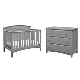 Delta Children Archer Nursery Furniture Collection in Grey