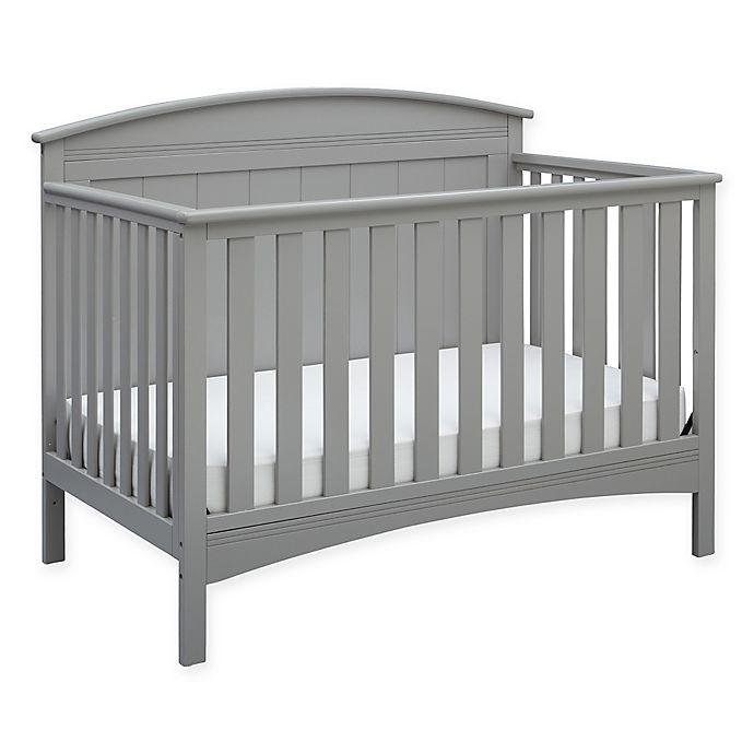 Delta Children 4-in-1 Convertible Crib in Grey | buybuy BABY