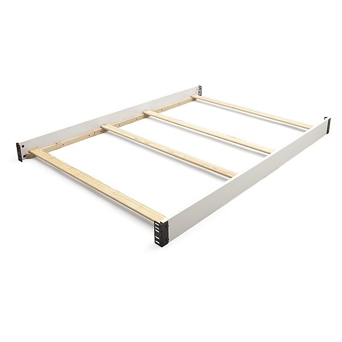 Alternate image 1 for Delta Children Full Size Bed Rails in Bianca