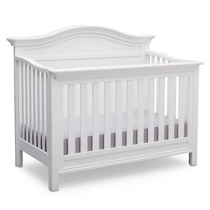 Alternate Image 1 For Serta Bethpage 4 In Convertible Crib Bianca