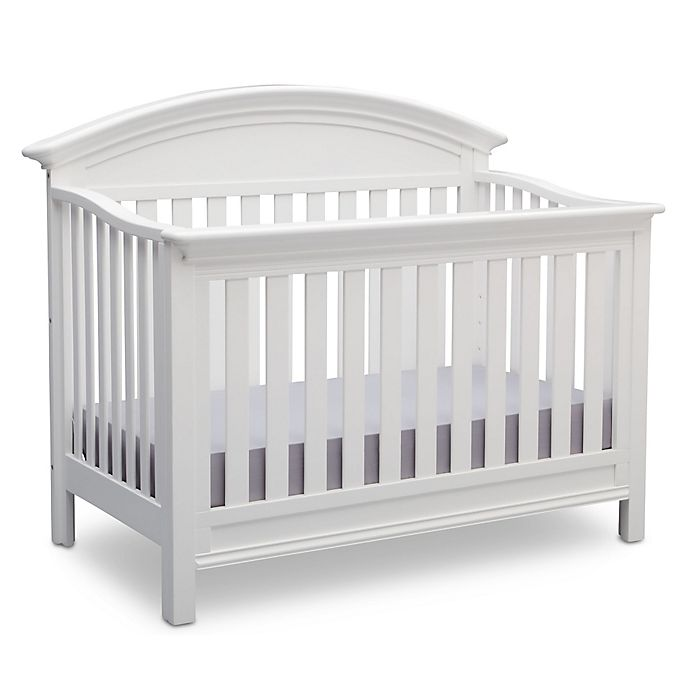 Alternate Image 1 For Serta Aberdeen 4 In Convertible Crib Bianca