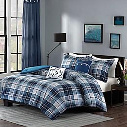 Intelligent Design Camilo Comforter Set in Blue
