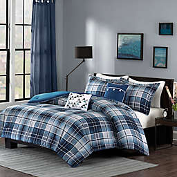 Intelligent Design Camilo Comforter Set in Blue