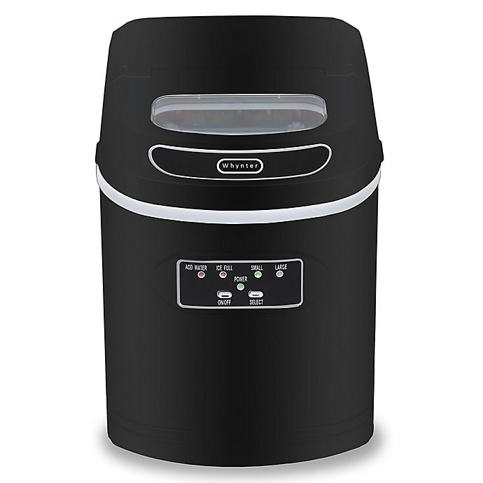Alternate image 1 for Whynter IMC-270MS Compact Portable Ice Maker with 27 lb. Capacity in Black
