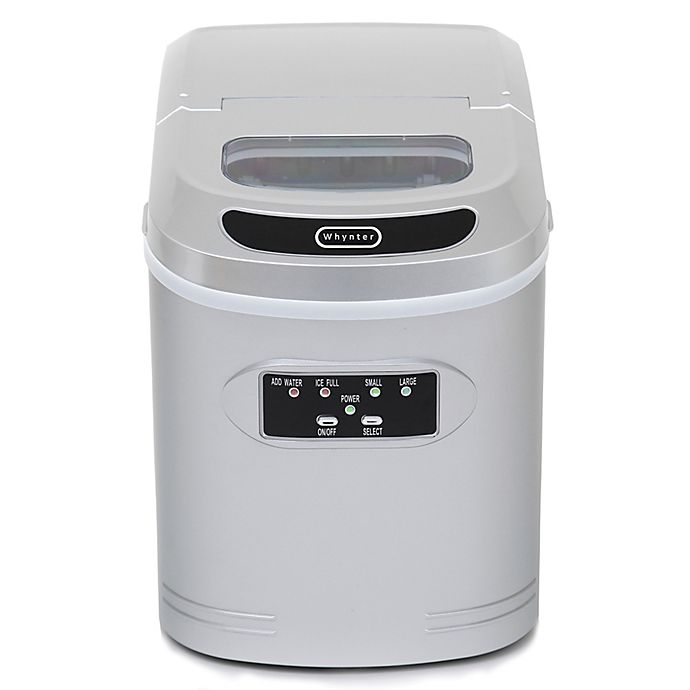 Alternate image 1 for Whynter IMC-270MS Compact Portable Ice Maker with 27 lb. Capacity in Silver