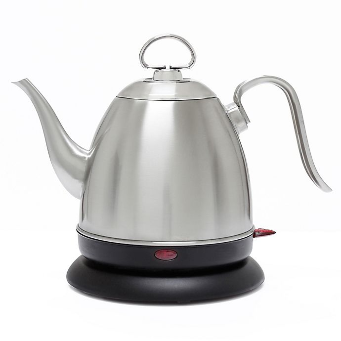 Alternate image 1 for Chantal Mia Ekettle Electric Water Kettle in  Brushed Stainless Steel