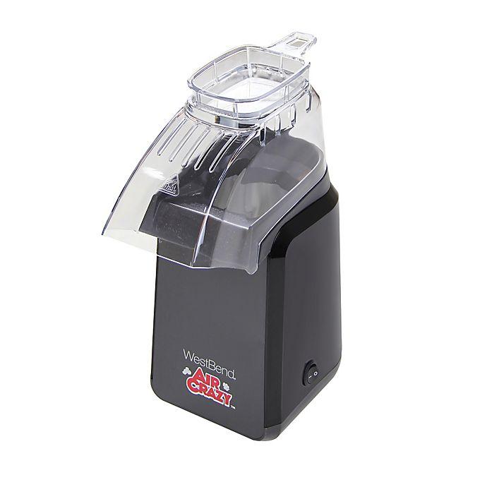 Alternate image 1 for West Bend Air Crazy Popcorn Popper in Black