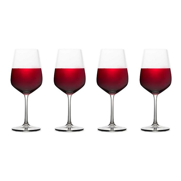 Alternate image 1 for Mikasa® Gianna Ombre Smoke Red Wine Glasses (Set of 4)