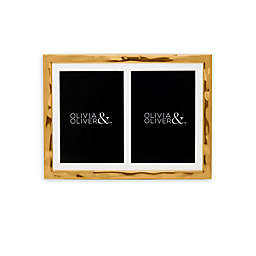 Olivia & Oliver™ Harper 5-Inch x 7-Inch Double Invitation Frame in Gold
