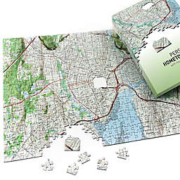 Map Marketing Hometown USGS Map Puzzle