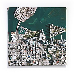 Map Marketing Personalized Aerial Gallery Canvas