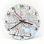 USGS Clock - 12  - Personalized