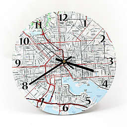 "USGS Clock - 12"" - Personalized"
