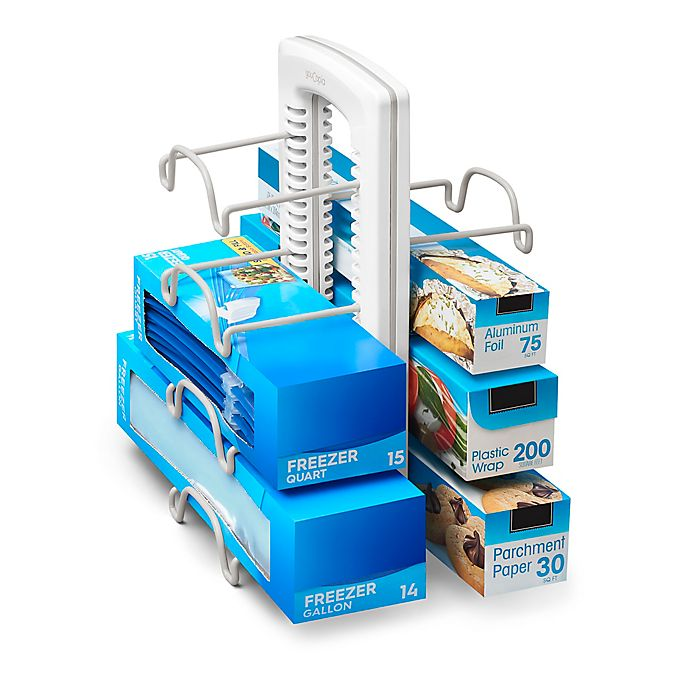 Alternate image 1 for YouCopia® StoreMore Adjustable WrapStand® Foil and Bag Organizer