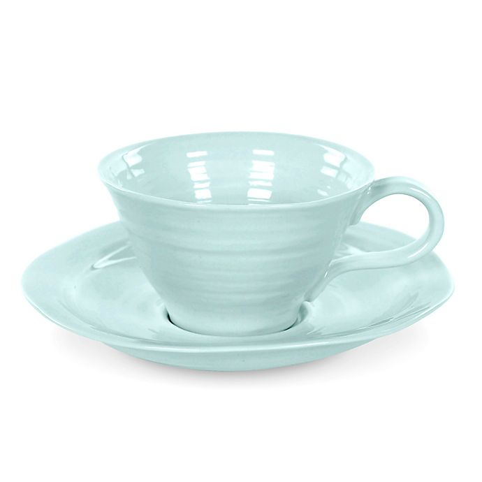 Alternate image 1 for Sophie Conran for Portmeirion® Cup and Saucer in Celadon