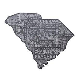 Top Shelf Living South Carolina Etched Slate Cheese Board