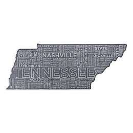 Top Shelf Living Tennessee Etched Slate Cheese Board