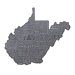 Top Shelf Living West Virginia Etched Slate Cheese Board