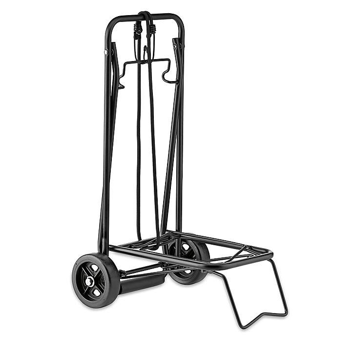 Alternate image 1 for Conair® Travel Smart® Folding Multi-Use Cart in Black