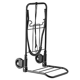 Conair® Travel Smart® Flat-Folding Multi-Use Luggage Cart in Black