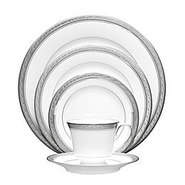 Noritake® Crestwood Platinum 20-Piece Dinnerware Set