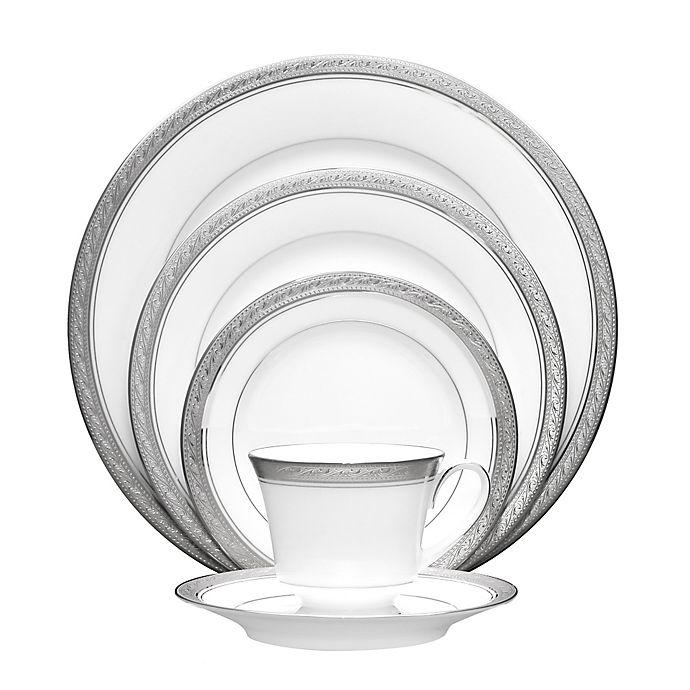 Alternate image 1 for Noritake® Crestwood Platinum 20-Piece Dinnerware Set